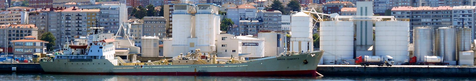 Servicios marítimos: Granel