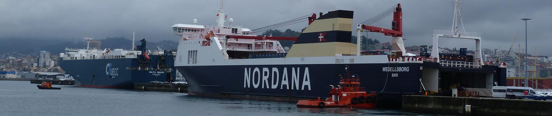 Rexistro de empresas prestadoras de servizos portuarios no Porto de Vigo e sua Ría