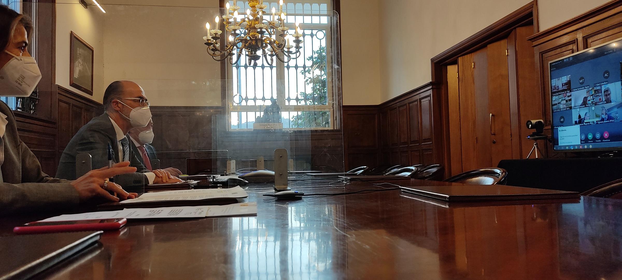 PUERTO DE VIGO Y ZONA FRANCA ACUERDAN LA RECUPERACIÓN DE 65.000 M2 EN EL ÁREA PORTUARIA DE BOUZAS