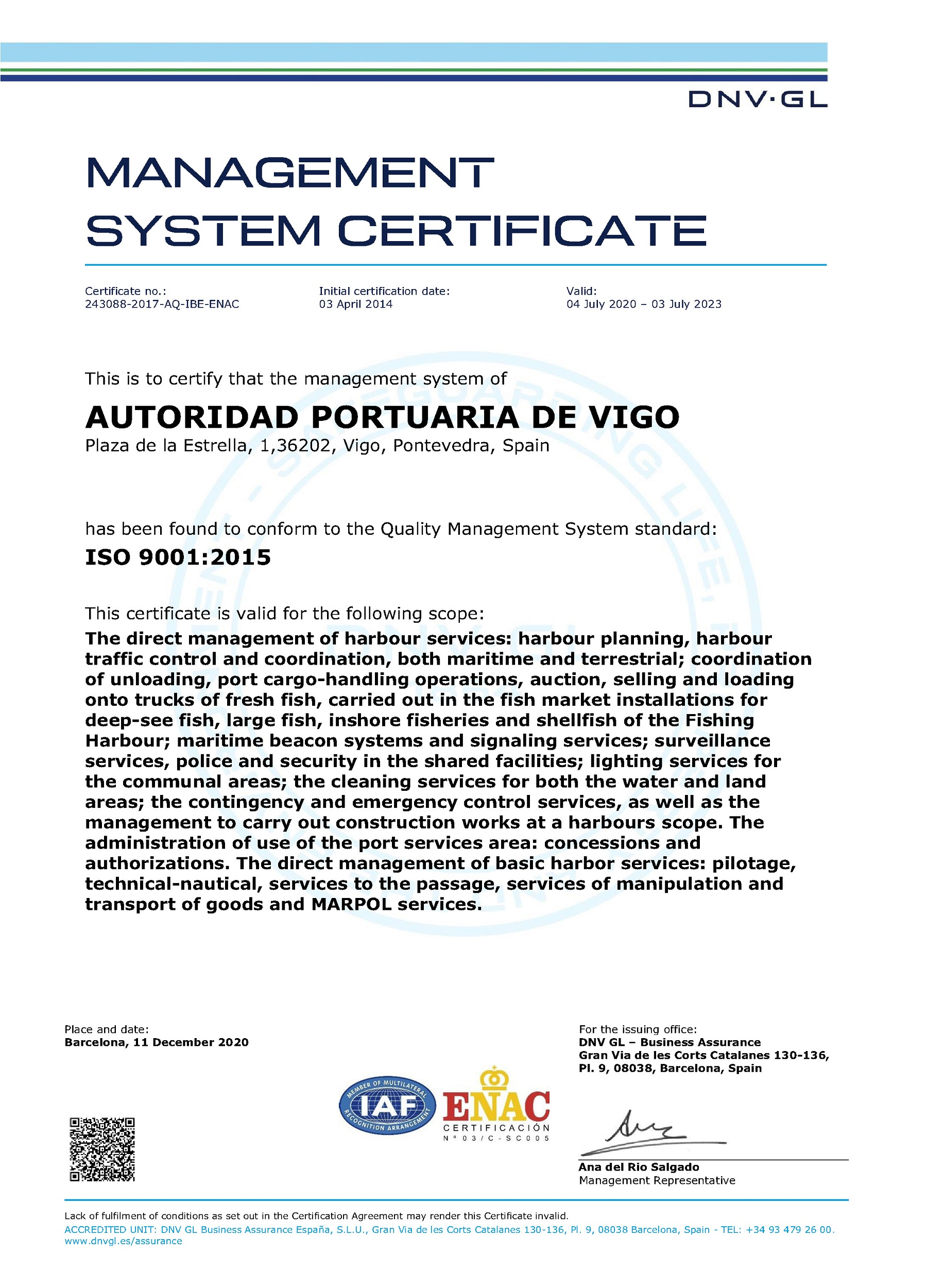 ISO 9001 (2020) eng