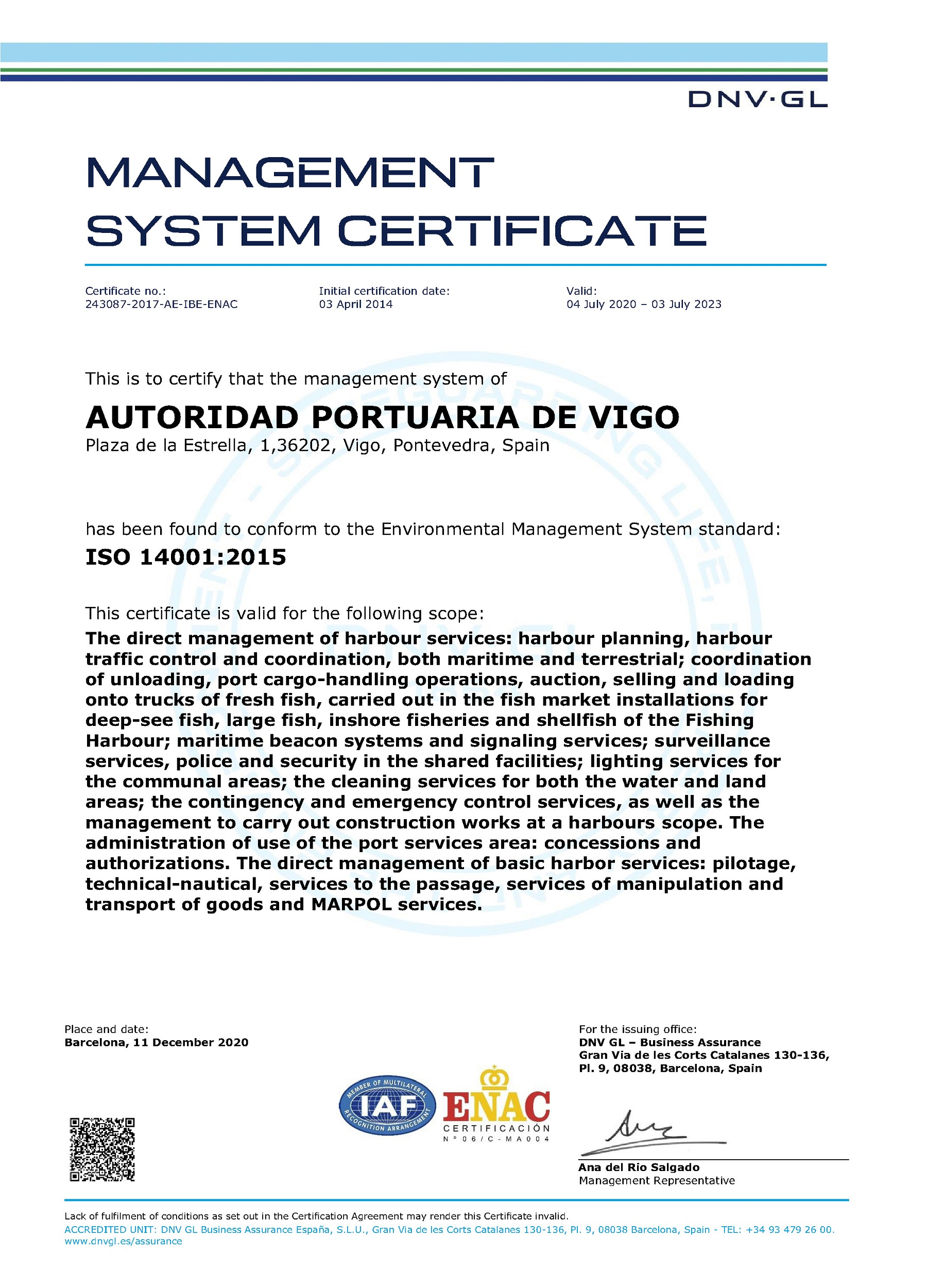 ISO 14001 (2020) eng