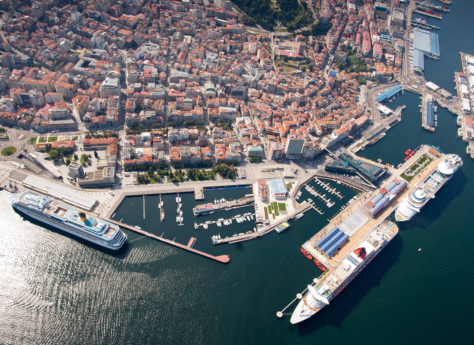 Muelles de Cruceros