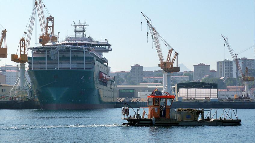 Fotografías del Puerto de Vigo