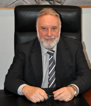 Fotografía del Presidente de la Autoridad Portuaria de Vigo