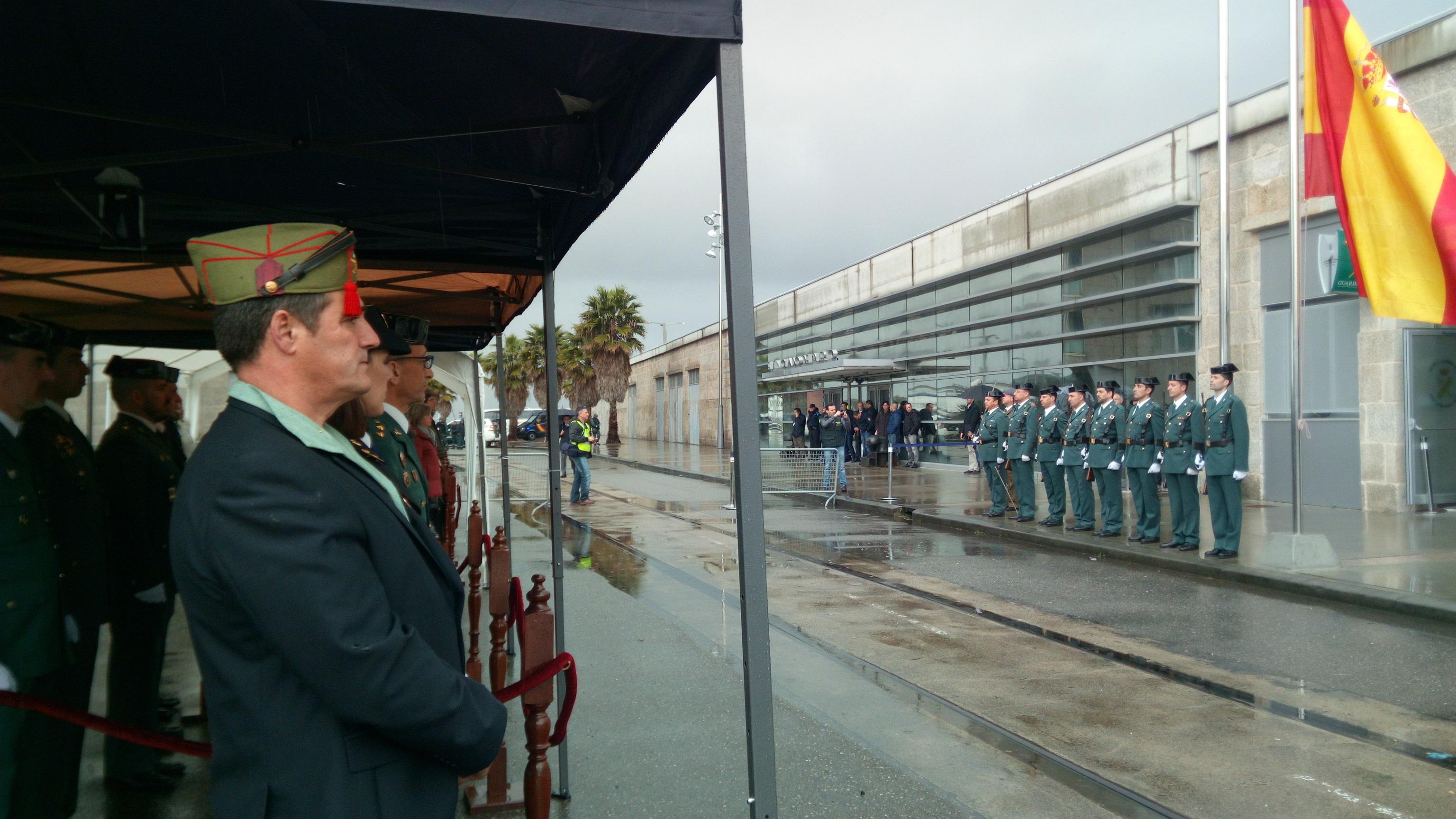 LA UNIDAD FISCAL Y DE FRONTERAS DEL PUERTO DE VIGO ESTRENA NUEVAS DEPENDENCIAS